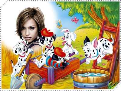 Bambino telaio carica dei 101 Disney