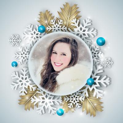 Navidad Copos de nieve Invierno