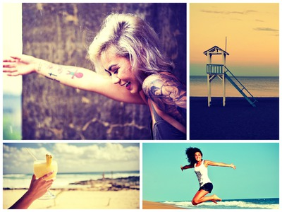 Collage 4 fotos