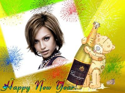 Happy new year Ano novo Feliz ano novo Champanhe