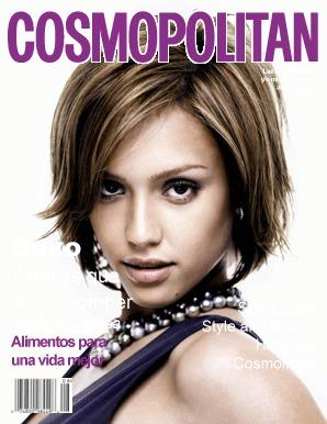 Montaje Fotografico Tapa De Revista Cosmopolitan Pixiz