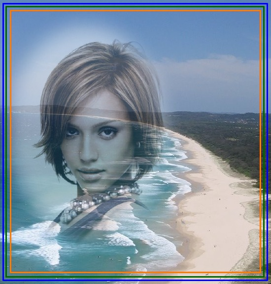 montage photo plage mer vacances pixiz