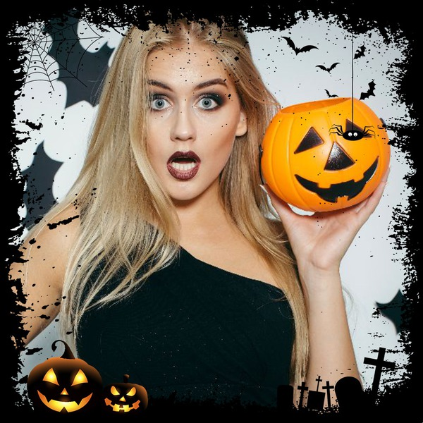 Photo Montage Halloween Photoframe For Facebook Profile Picture Pixiz