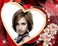 Coeur Love       Cadre N  261