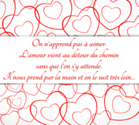 Montage photo carte de saint valentin message d 39 amour pixiz - Message original saint valentin ...