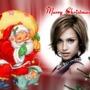 Glædelig jul Santa Rabbit