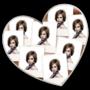 Serce ♥ Polaroidy 8 zdjęć