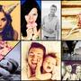 Pêle mêle Collage géométrique 9 photos