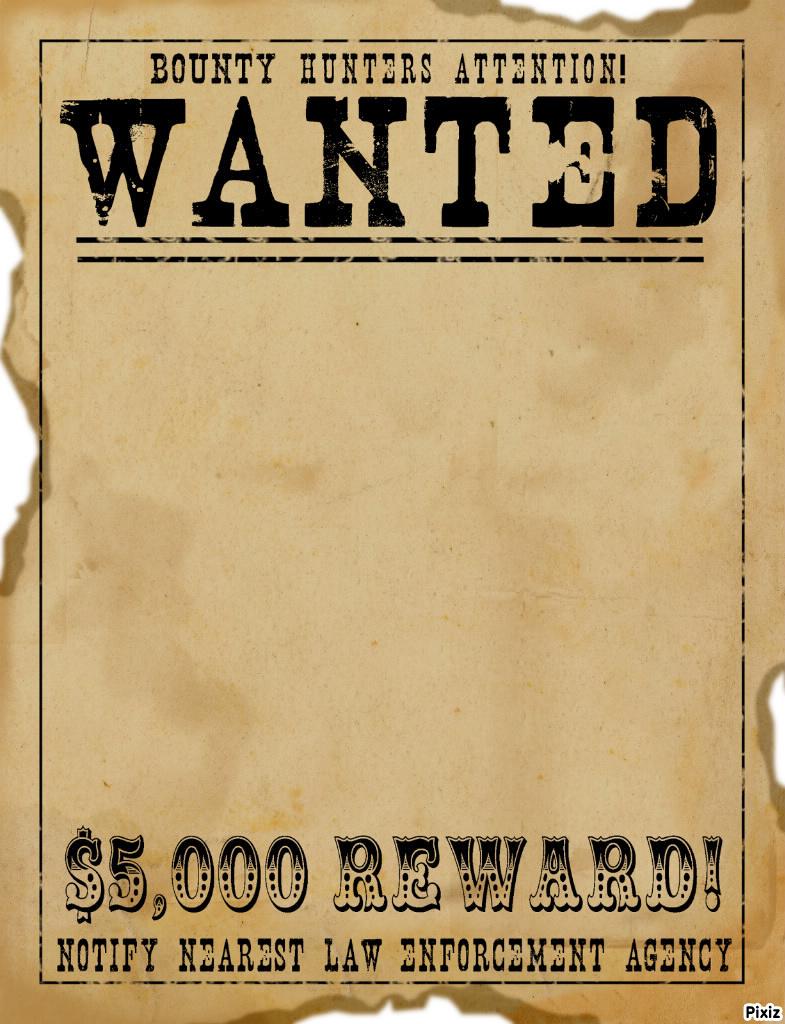 Doc600769 Reward Poster Template Word Reward Posters Template – Reward Sign Template
