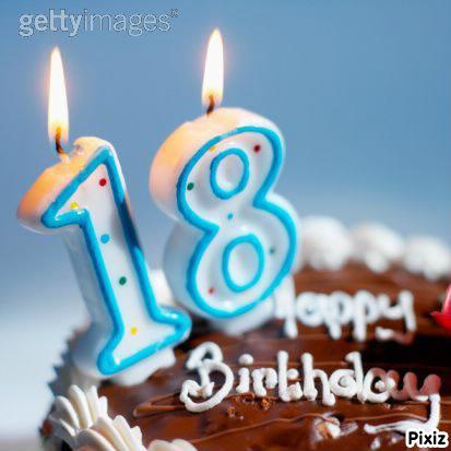 montage photo joyeux anniversaire 18 ans pixiz