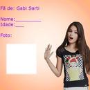 Carterinha de fã oficial da Gabi Sarti