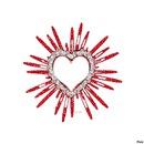 Rayonnante coeur rouge
