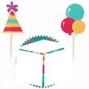 cubo cumpleaños