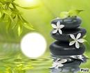 eau et galets zen