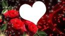 coeur avec roses 1 photo