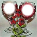rosa amorosa corazon