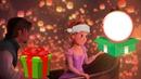 rapunzel en navidad