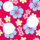 Collage con flores