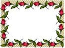 Moldura de Flores
