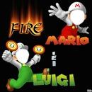 Fire Mario & Fire Luigi