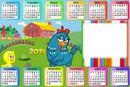 Calendário 2014 da Galinha Pintadinha