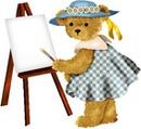 ursinha pintora