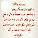 Maman je t`aime