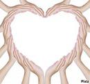 S..la main sur le coeur