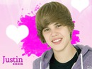 Justin Bieber coeur