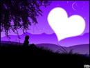 Le nombre d'étoiles dans le ciel, est la quantité d'amour pour toi...