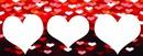 corações 3 fotos 3