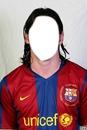 Cadre visage Messi