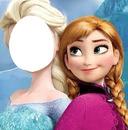 Face da Elsa-fROZEN