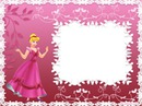 marco princesa rosa