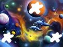 dauphin dans l'espace