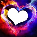 coeur fluo 1 photo