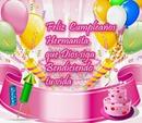 Feliz Cumpleaños Hermanita