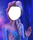 Face da Elsa de Frozen