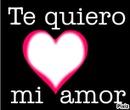 te quiero mi amor