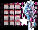 Monster High Calendário 2014
