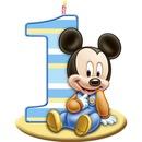 mickey anniversaire