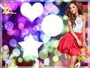 Marco de Ariana Grande para 3 fotos