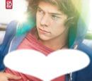 Coeur de Harry Styles des One Direction