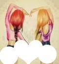 mejores amigas x siempre :3