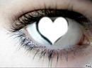 oeil en coeur