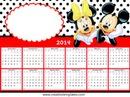 Calendario 2014 Mikey & Minnie