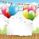 feliz cumple globos