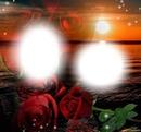 Lua e rosa