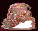 b-day rosa torte