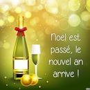 champagne noël